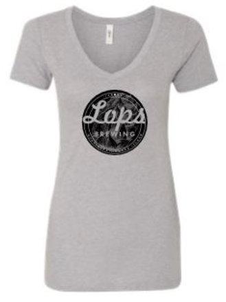 Women's Grey Lops Brewing T Shirt