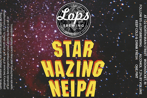 4 Pack - For Pickup Only - STAR HAZING NEIPA