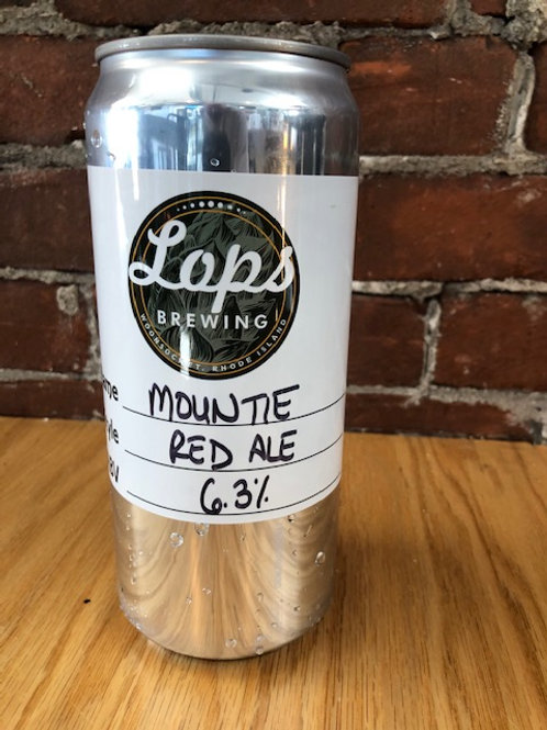32oz Crowler Can - For Pickup Only - MOUNTIE RED ALE