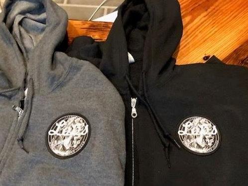 Lops Brewing Patch Full Zipper Sweatshirts