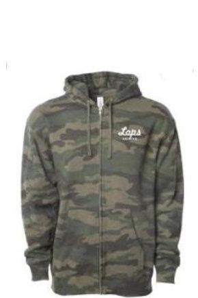 Lops Stitched Zip Sweatshirt - Forrest Camo