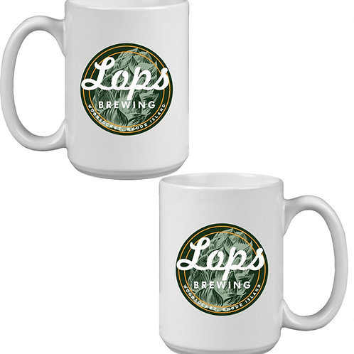Lops Brewing 15oz Coffee Mug (in Brewery pick up only)