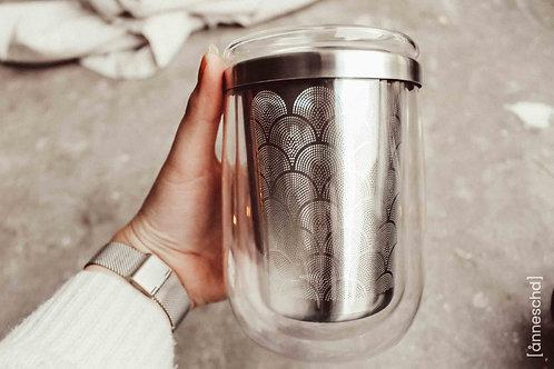 Teeglas mit Teefilter