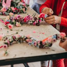 Kundenevent Blumen