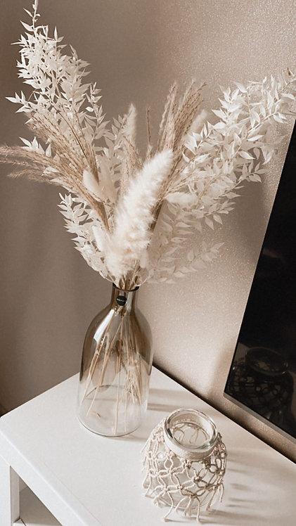 Weiße Trockenblumen   Inspiration