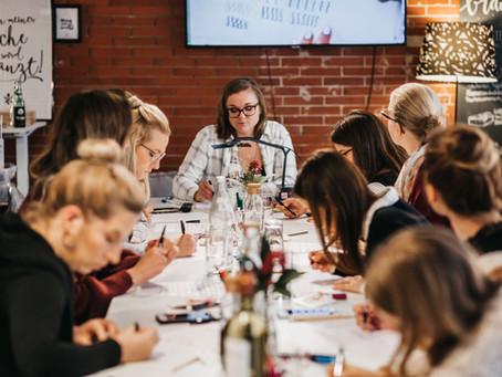 Handlettering Workshops und Events – Schönschreiben ist in Mode