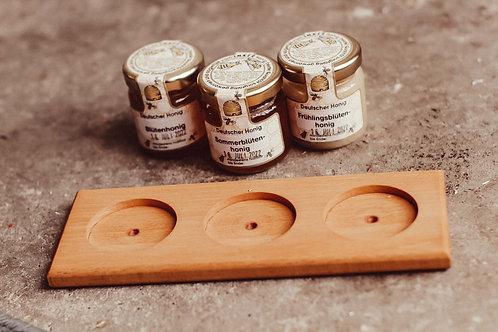 Deko Brettchen für Mini Honige
