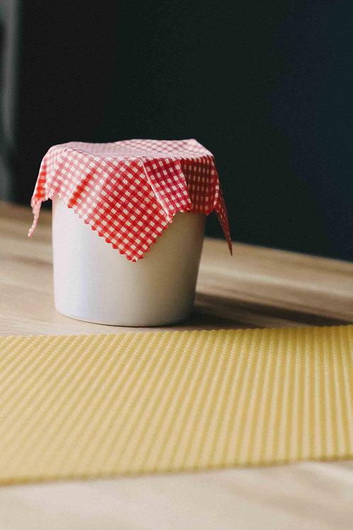 BIO Bienenwachs-Platte für Bienenwachstuch DIY