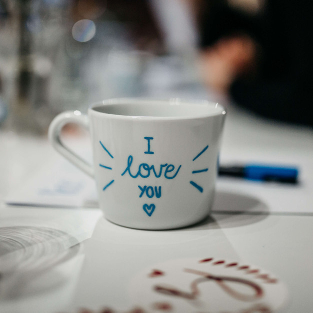 Keramik Beschriftung Customer Event