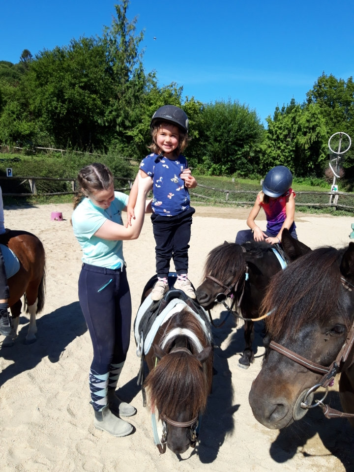 STAGE PONEY 3/10 ANS - 5 matinées