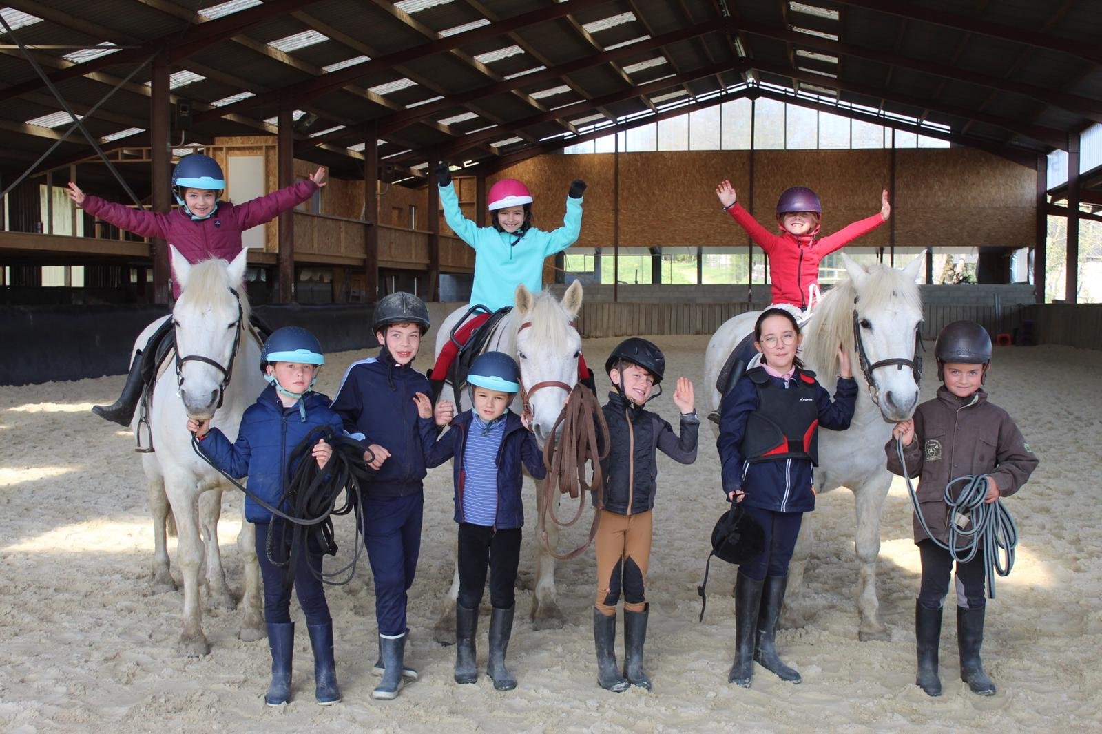 STAGE PONEY 3/10 ANS - 3 matinées