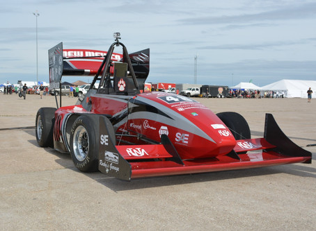 UNM's Formula SAE Team Learns From Experiences