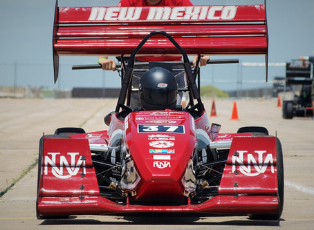 UNM Formula SAE Team Places 11th in International Competition