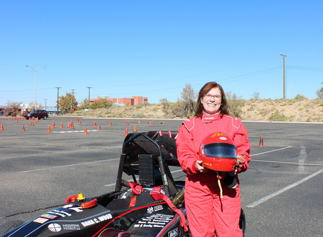 FSAE Driving Day put supporters in the driver's seat