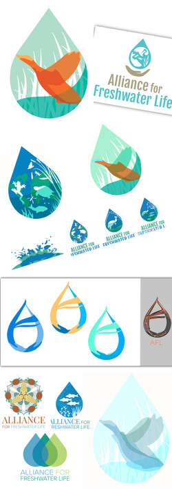 "Collaborative Logo — ""Alliance For Life"" — Vector"
