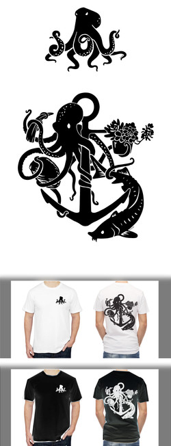 T-shirt Design — Vector