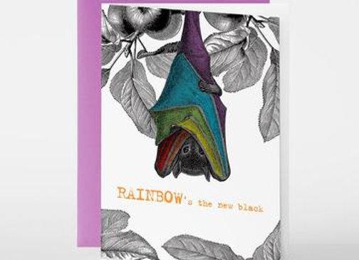 Rainbow's the new black