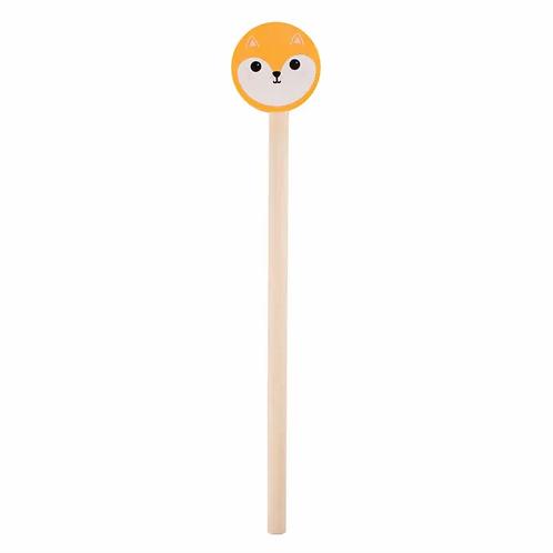 Hiro Fox Pencil & Eraser