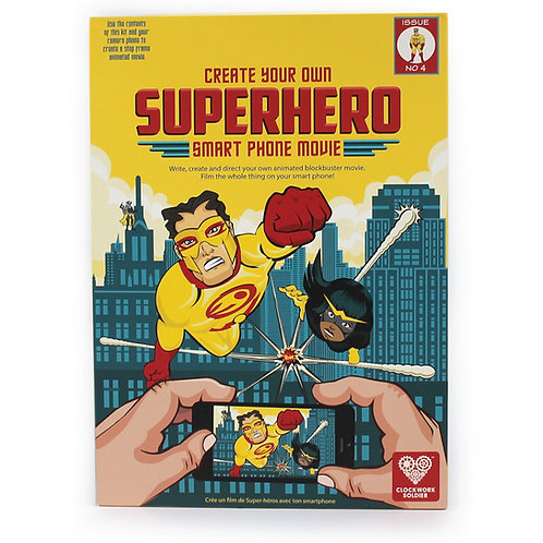 Superhero Smartphone Movie Kit