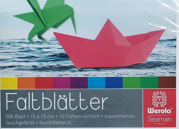 Origami paper (15cm x 15cm)