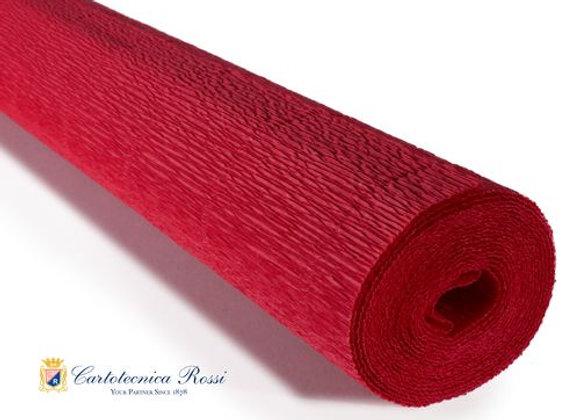 Italian Crepe Paper - 180g roll - 589 Crimson Red