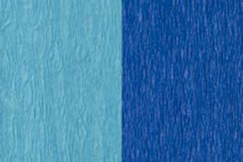 Doublette Crepe Paper - Light Blue/Blue