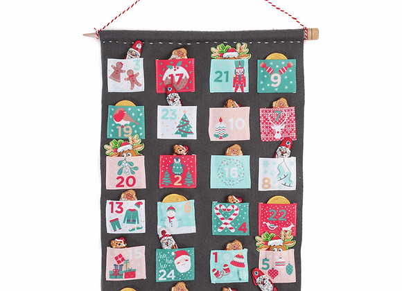 Advent calendar ribbon