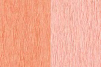 Doublette Crepe Paper - Salmon/Light Rose