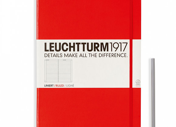 Leuchtturm1917 Master A4+ Hardcover Ruled