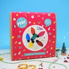 Retro Fairy Lights Christmas Garland Kit