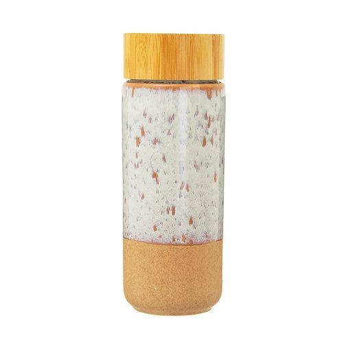 White Ceramic Bottle