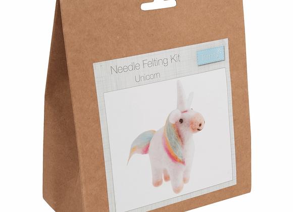 Needle Felting Kit : Unicorn