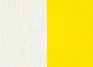 Doublette Crepe Paper - White/Light Yellow