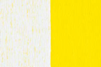 Doublette Crepe Paper - White/Light Yellow