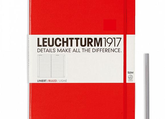 Leuchtturm1917 Master Slim A4+ Ruled