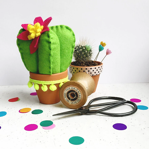 Felt Cactus Sewing Kit