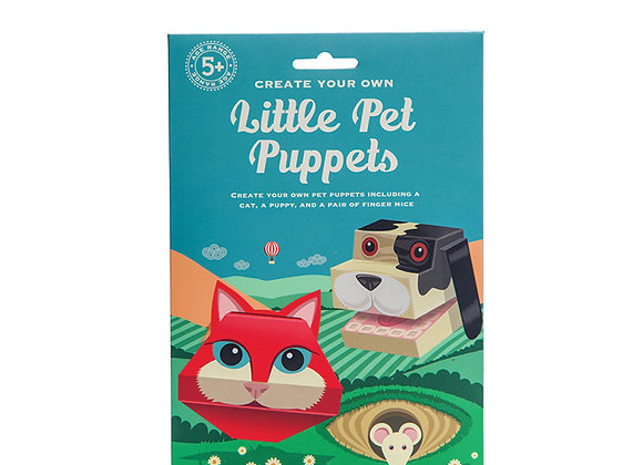 Create Your Own Pet Puppets