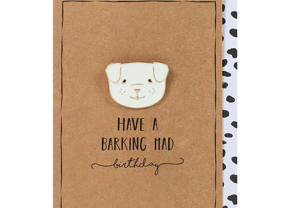 Have a barking mad birthday card