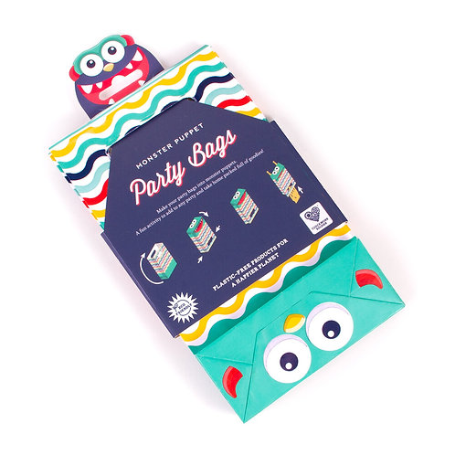 Monster Puppet Party Bags