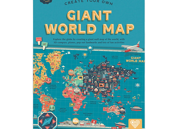 Giant World Map