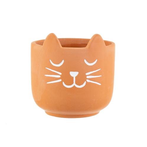 Mini Terracotta Cats Whiskers Planter