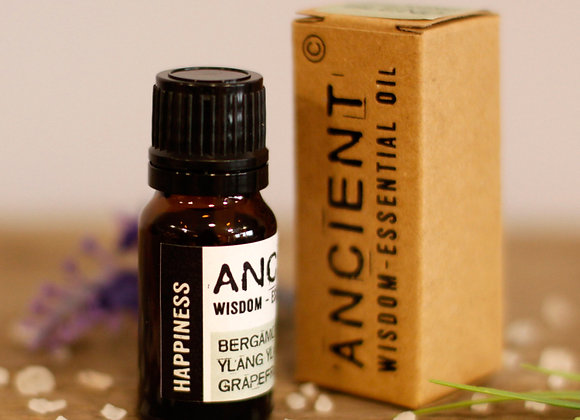 Happiness Essential Oil Blend - Boxed - 10ml
