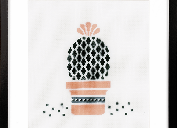 Counted Cross Stitch Kit - Succulent 3