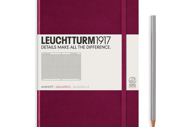 Leuchtturm1917 Medium Hardcover A5 Squared
