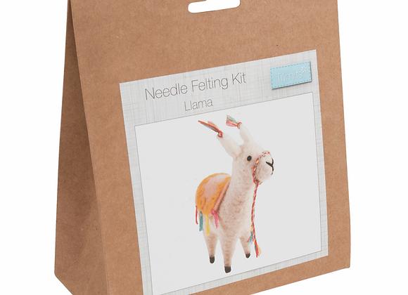 Needle Felting Kit : Llama