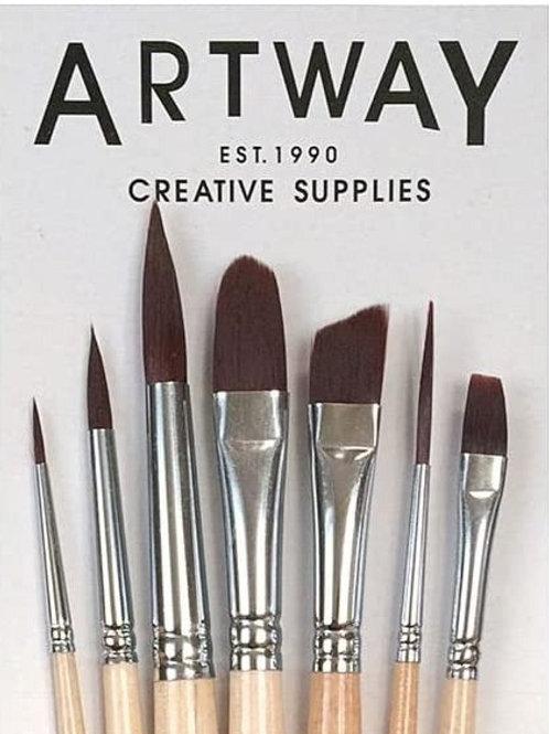 Artway 7 piece brush set