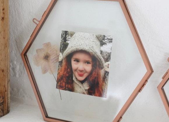 Hexagonal Photo Frame