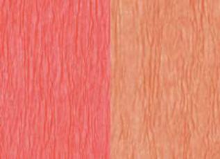 Doublette Crepe Paper - Honeysuckle/Coral