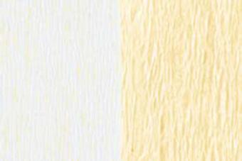 Doublette Crepe Paper - White/Apricot