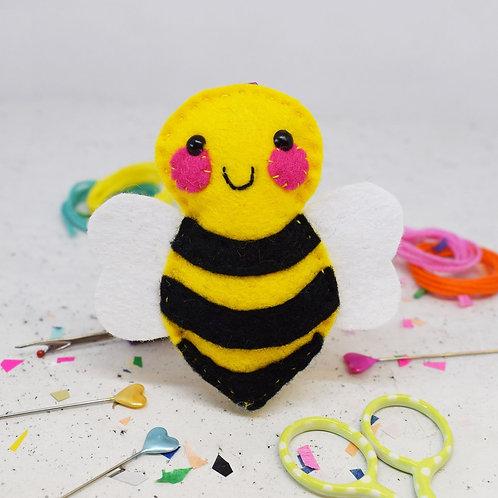 Bee Felt Sewing Kit